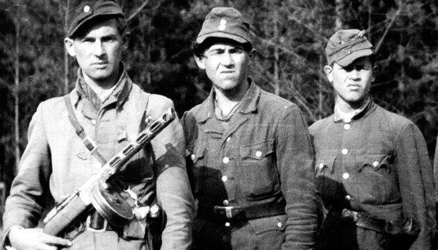 Солдаты УПА