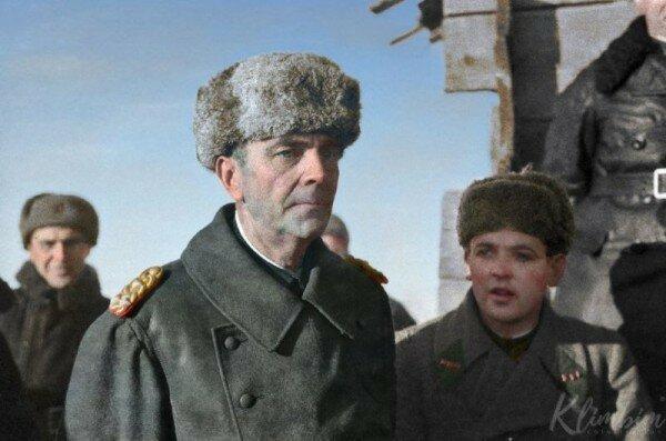 Паулюс в плену СССР