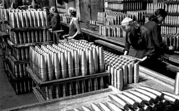 Производство снарядов в СССР