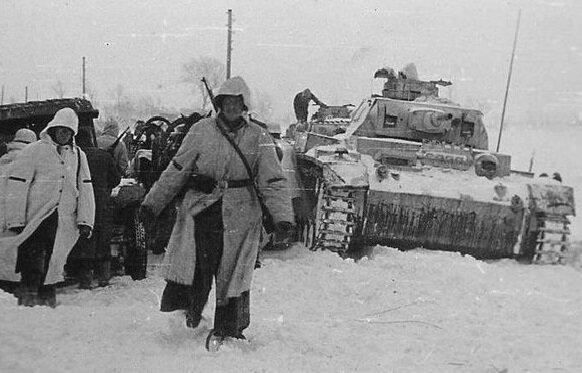 Немецкие войска приближаются к Сталинграду