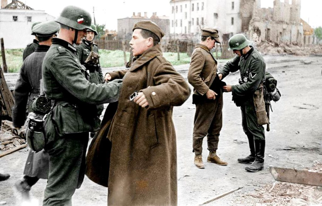 Немецкие солдаты в Польше