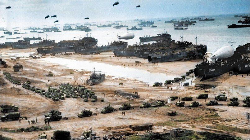 Второй фронт в Нормандии