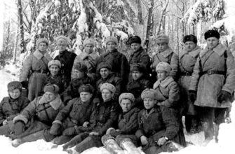 Фото зимой стрелковой роты