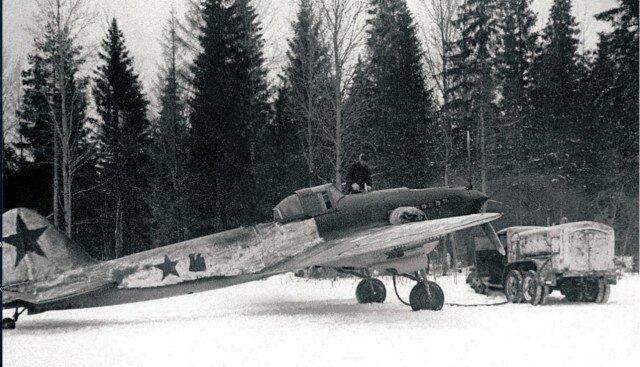 Фото советского штурмовика Ил-2