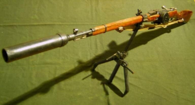 Фото образца гранатомета Дьяконова