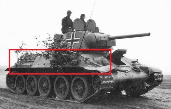 Доработанный немцами танк Т-34