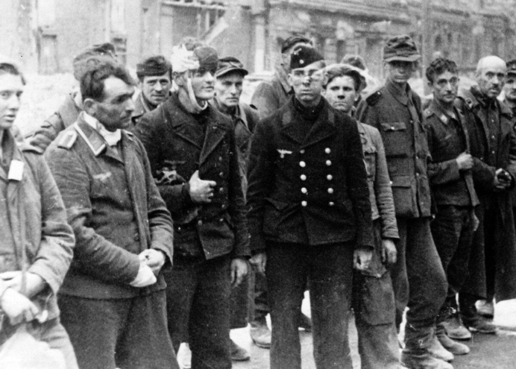 Немецкие солдаты в Берлине