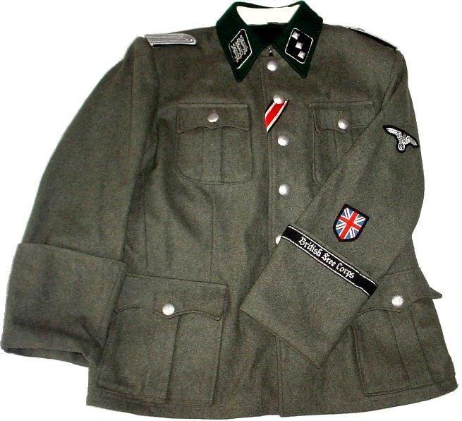 Форма британских союзников Третьего Рейха с отличительным знаком
