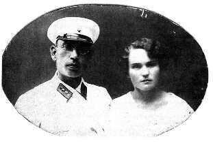 Военачальник Власов и его жена, портреты