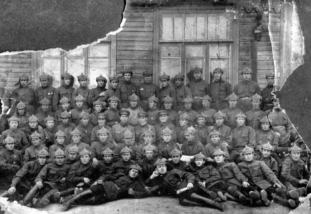 Солдаты 19-й стрелковой дивизии летом 1932 года