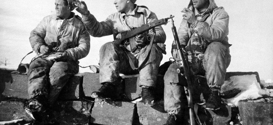 Оружие со времен Великой Отечественной Войны