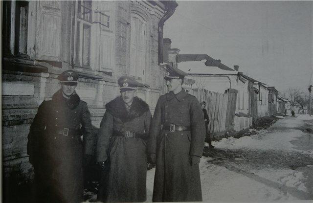 Фото немецких офицеров в оккупированном Смоленске