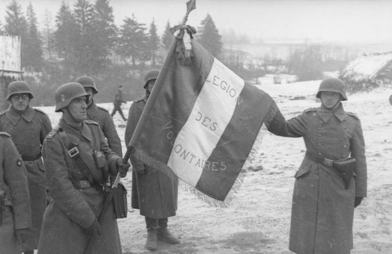 Знамя французов в 1941 году