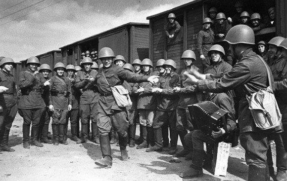 Фото июня 1941, советские солдаты