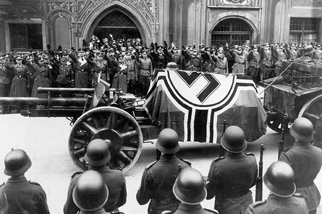 Похороны фельдмаршала Роммеля