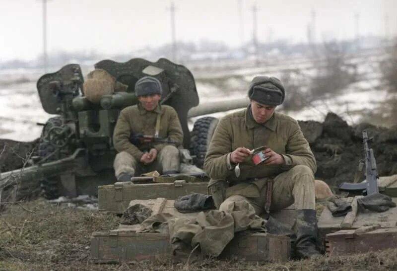 Солдаты 19-й стрелковой дивизии