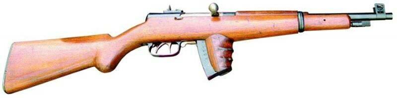 Образец оружия карабина Токарева