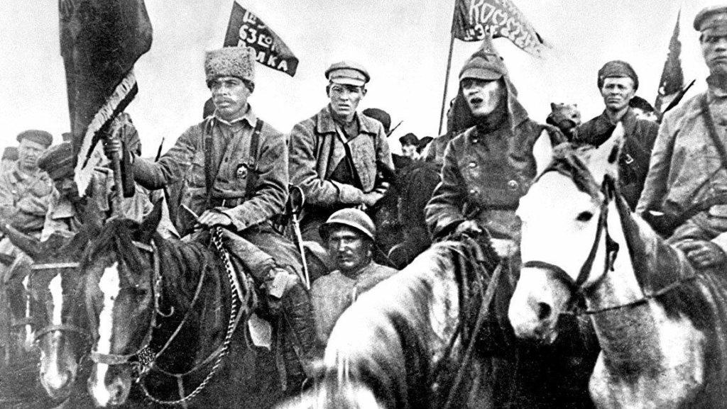 Фото кавалеристов Красной Армии