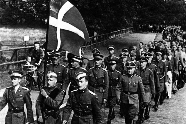 Союзники Германии из Дании