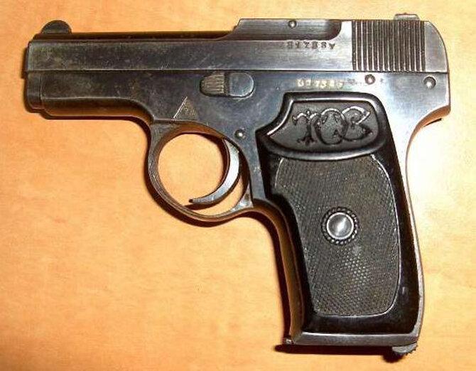 Образец пистолета Коровина