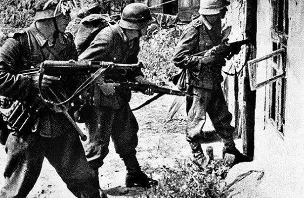 Атака немцев на Восточном Фронте