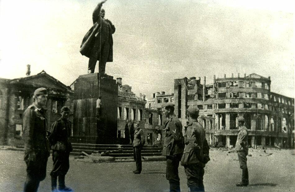 Улицы Воронежа во времена войны