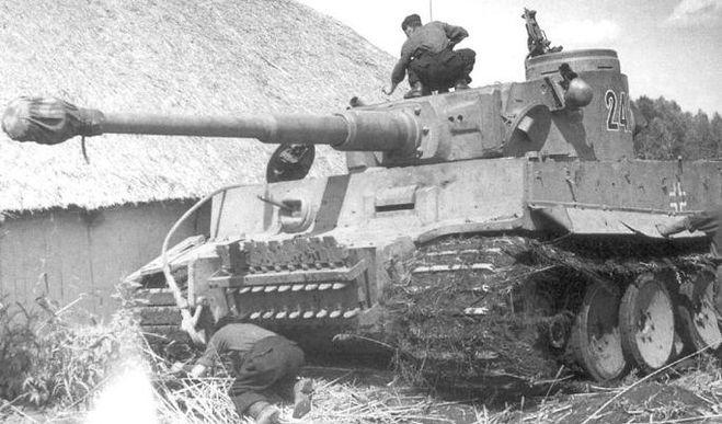 Образец немецкого танка Pz Kpfw VI