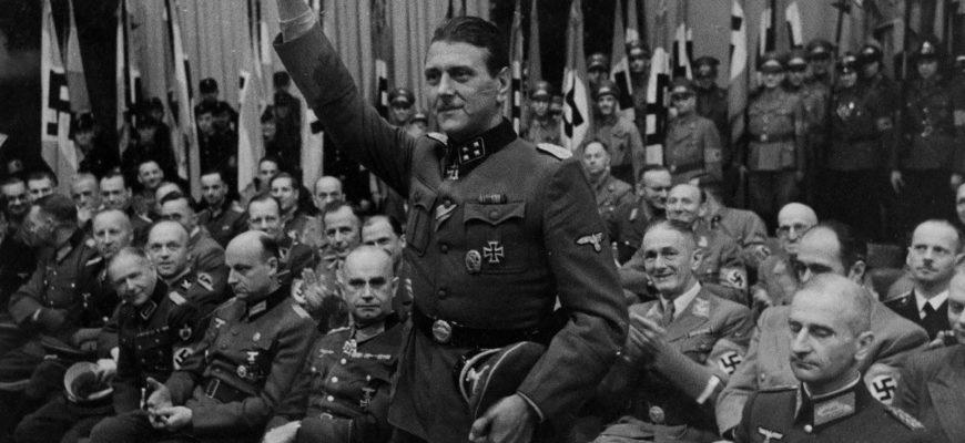 Отто Скорцени - командующий разведкой фашистской Германии