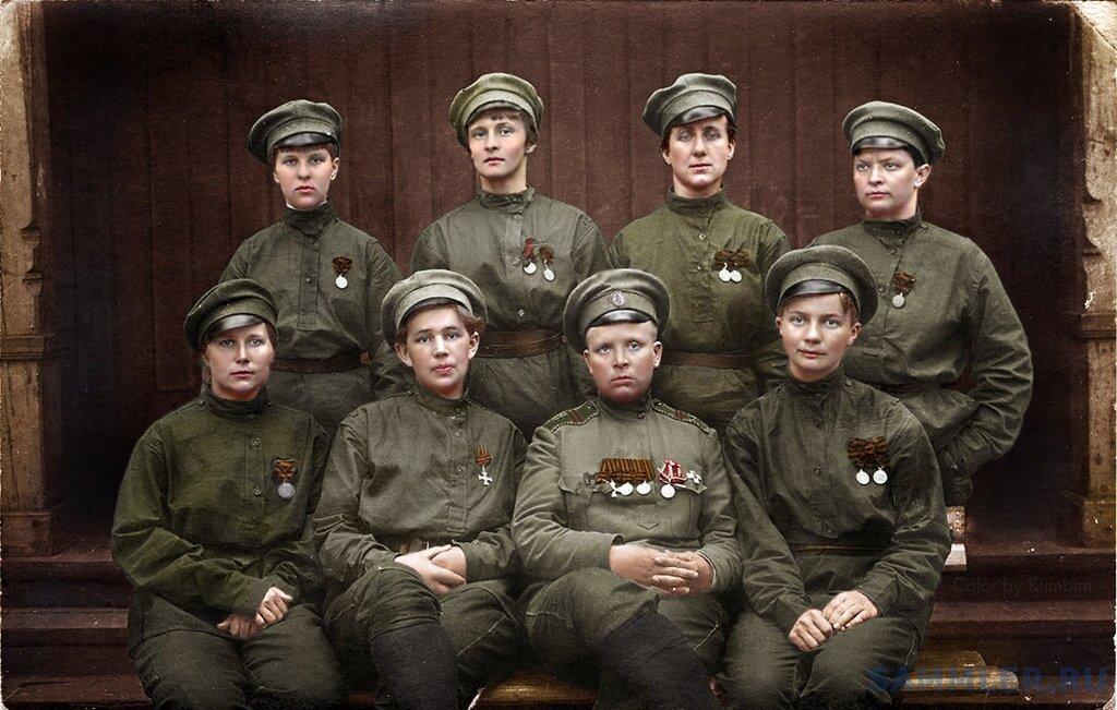 Мария Бочкарева и ее батальон