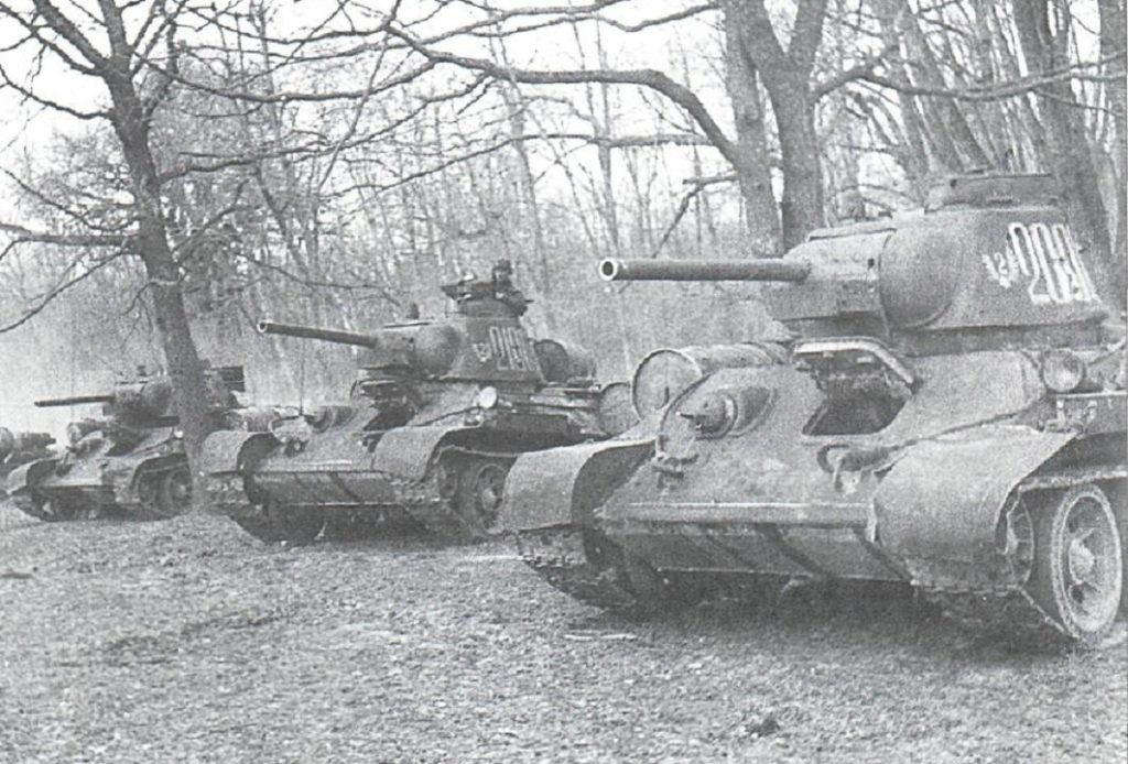 Образец танка Т-34/76, Курская битва