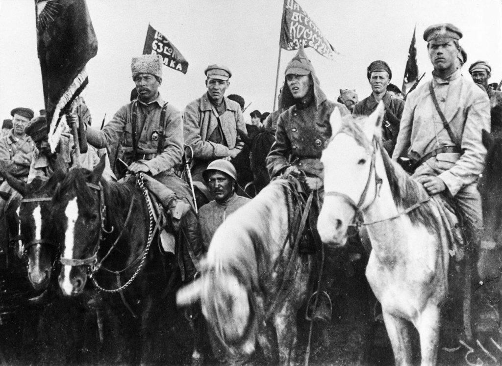 Солдаты конной армии