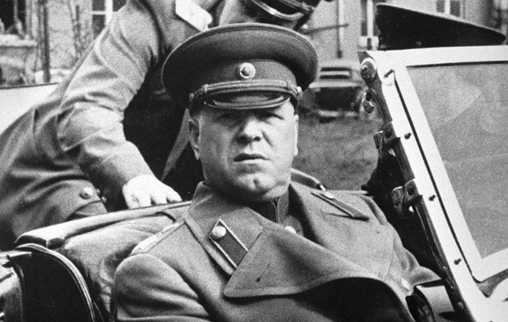 Фото Жукова в 1944 году