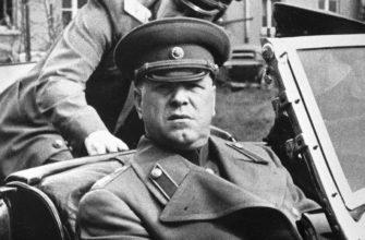 Портрет маршала Жукова