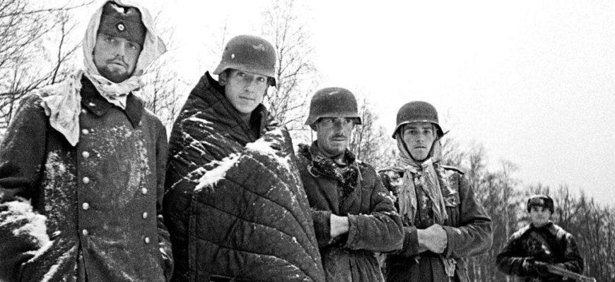 Как переживали холод немецкие войска зимой