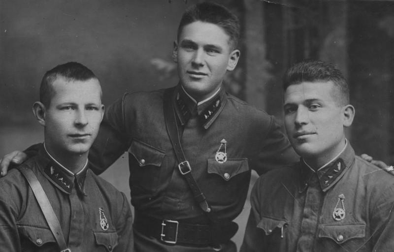 Командиры Красной Армии в 1930