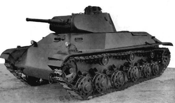 Образец танка Т-50