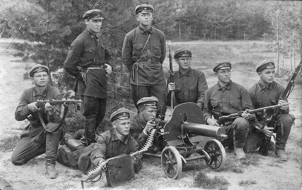 Солдаты Красной Армии в 1930