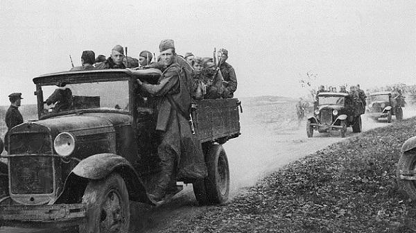 Дорога в Ельню в сентябре 1941