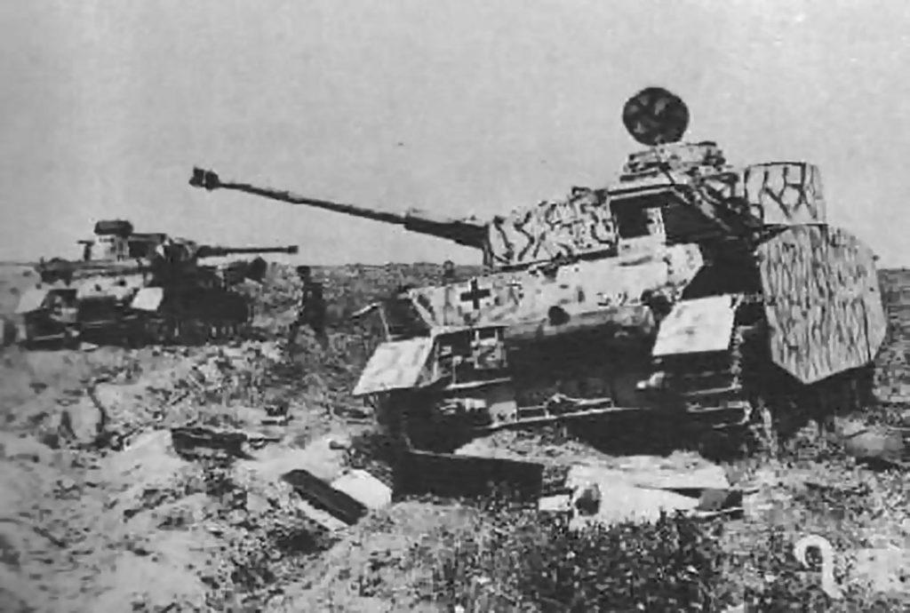 Фотография с места сражения под Курском