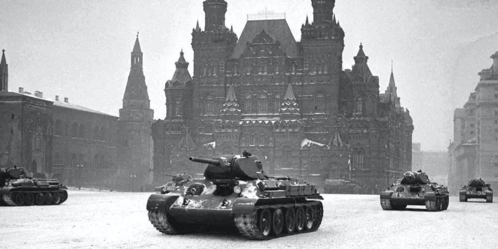 Парад в Москве 7 ноября 1941 года