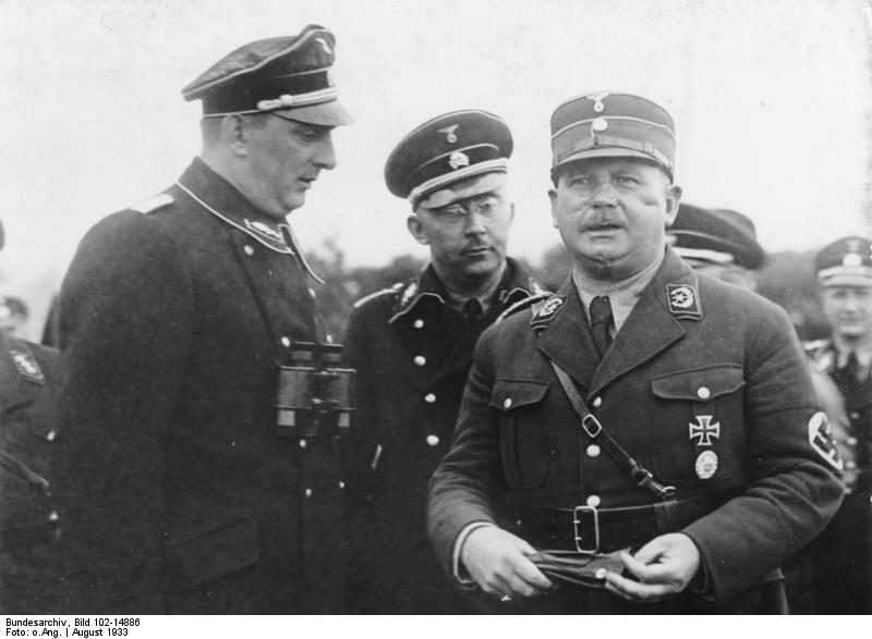 Гиммлер и Эрнст Рем