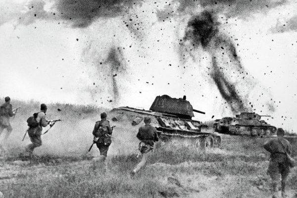 Красная Армия на операции в Ельне
