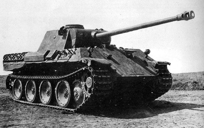 Танк Вермахта PzKpfw V
