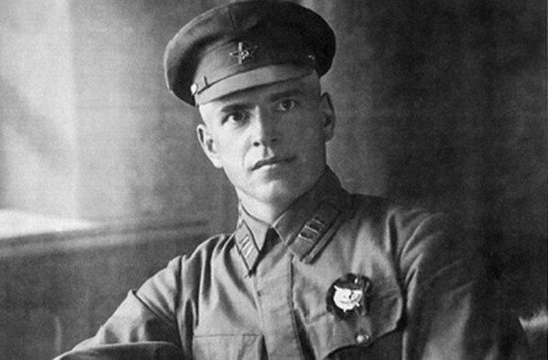 Портрет маршала Жукова в 1920 годы