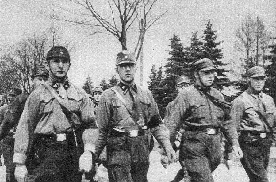 Марш немецких штурмовиков