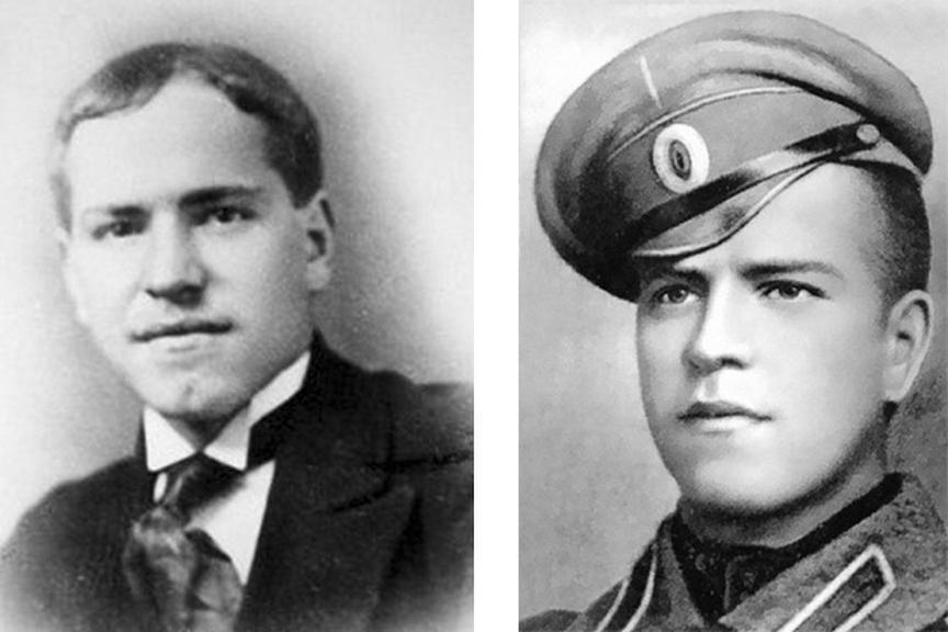 Портрет Жукова Георгия Константиновича в 1914 и 1916 годах