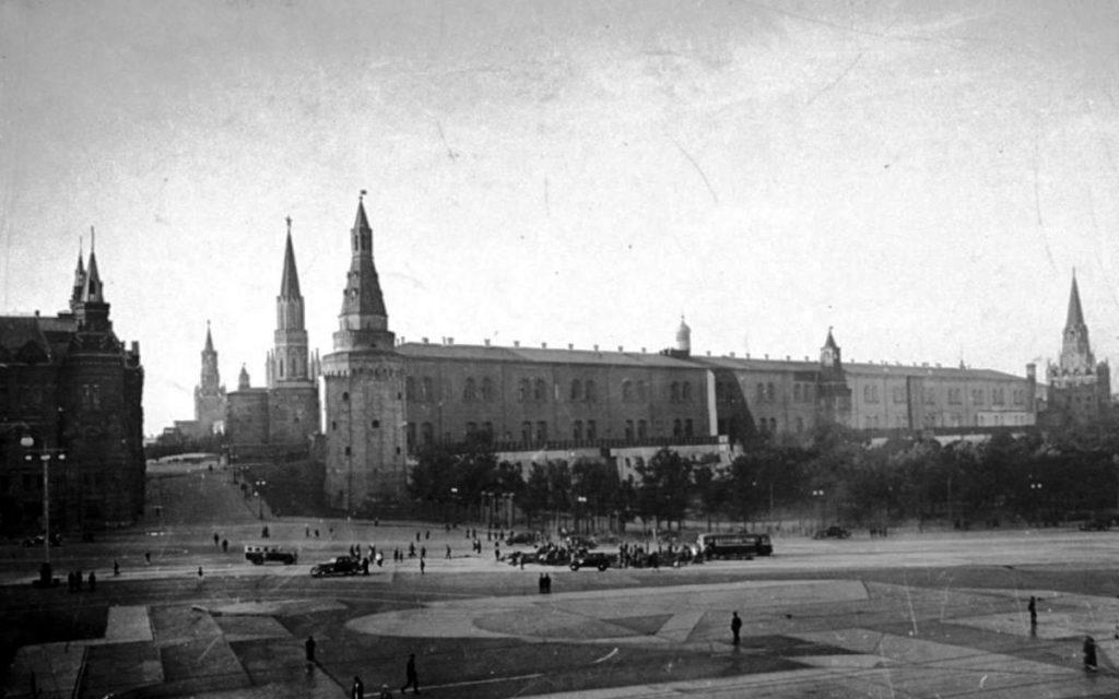 Маскировка Кремля в 1941