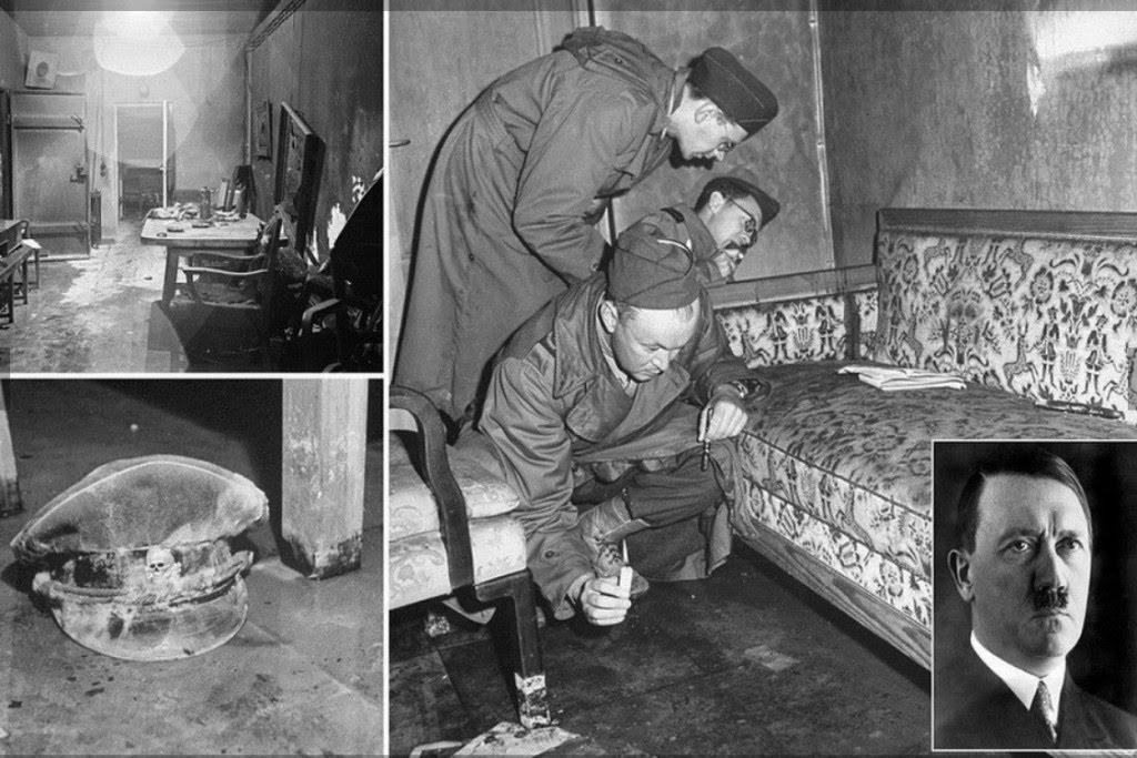 Место самоубийства Гитлера