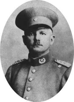 Портрет Эрнста Рема в форме