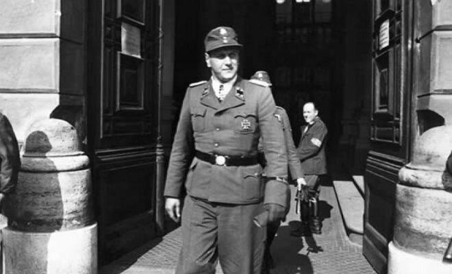 Командир разведки Отто Скорцени